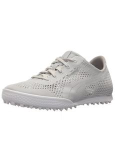 PUMA Golf Women's Monolite Cat Woven Golf Shoe Glacier Gray 6.5 Medium US