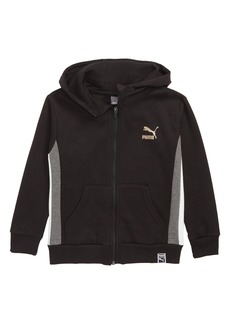 PUMA Hooded Zip Sweatshirt (Toddler Boys & Little Boys)