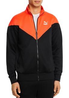 PUMA Iconic MCS Color-Blocked Regular Fit Full-Zip Track Jacket