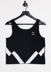 Puma international tank top in black