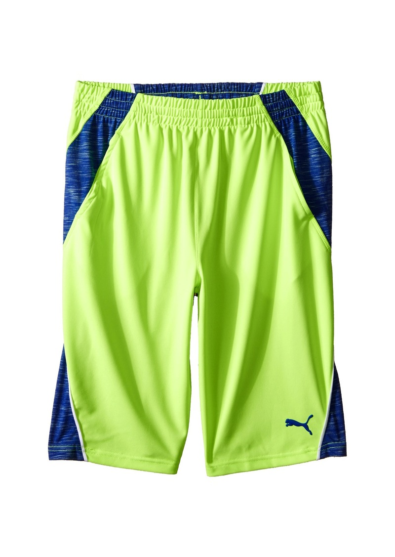 Puma Kids Mixed Blocked PUMA® Shorts (Big Kids)