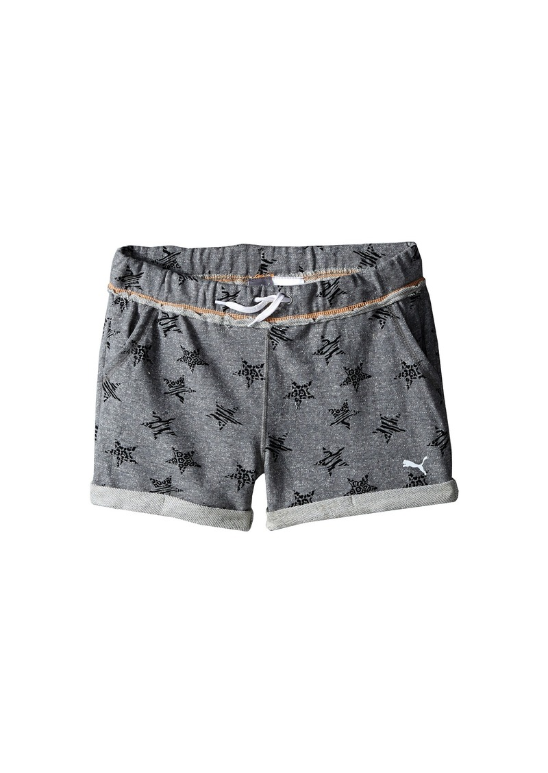 Puma Kids Starry Cuffed Shorts (Big Kids)