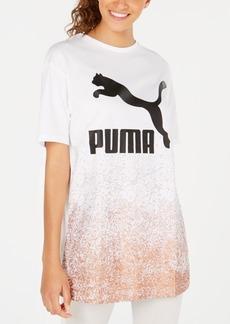 Puma Kiss Artica Cotton Metallic Long T-Shirt
