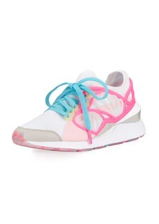 Puma Lace-Up Cage Fade Sneakers