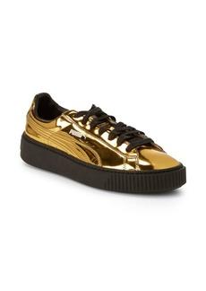 PUMA Lace-Up Platform Sneakers