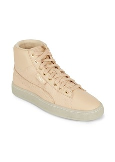 Puma Lace-Up Round Toe Sneakers