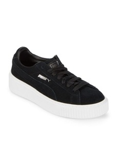 Puma Lace-Up Suede Sneakers
