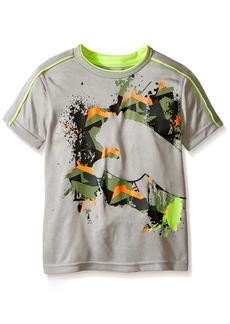 PUMA Little Boys' Active Short Sleeve Tee Shirt