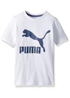 PUMA Little Boys' Archive Logo Tee