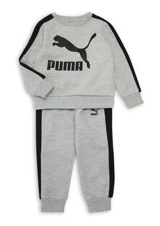 2b9f36492382 SALE! Puma PUMA Toddler Boys  3 Piece Slider Tee and Pant Set