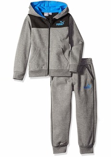 PUMA Little Boys' Fleece Hoodie Set