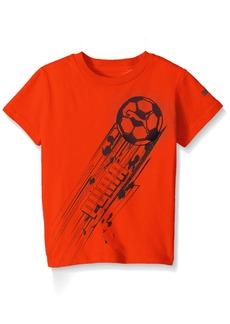 PUMA Little Boys' Graphic Short Sleeve Tee Shirt