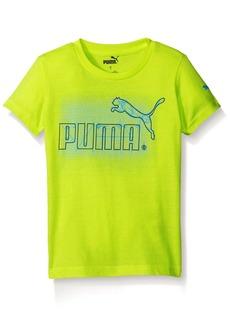 PUMA Little Boys' Graphic Short Sleeve Tee Shirt  6