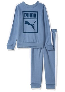 PUMA Little Boys' Heritage 2 Piece Set