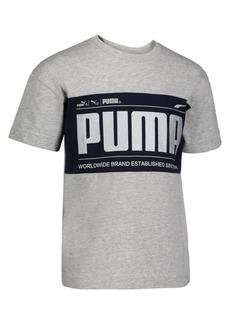 PUMA Little Boy's Logo Graphic Tee