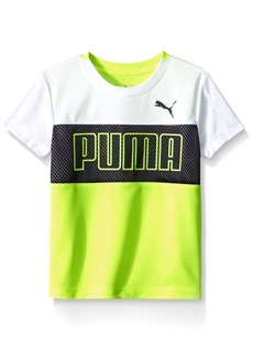 PUMA Little Boys' Short Sleeve Performance Shirt  5