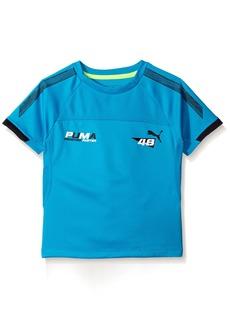 PUMA Little Boys' Short Sleeve Performance Shirt  7