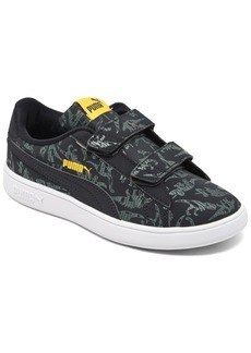 Puma Little Boys Smash v2 Archeo Stay-Put Closure Casual Sneakers from Finish Line