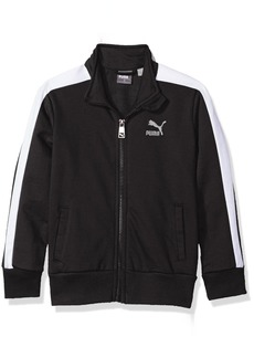 PUMA Little Boys' T7 Track Jacket Black