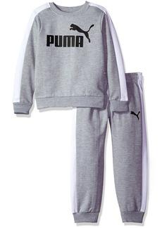 PUMA Little Boys' Two Piece Fleece Set