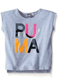 PUMA Little Girls' Active Girly Tee