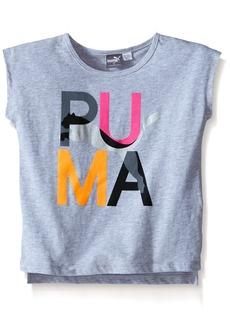 PUMA Little Girls' Active Girly Tee