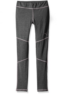 PUMA Little Girls' Active Heather Legging