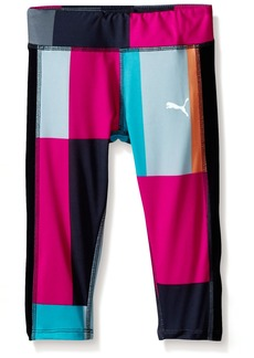 PUMA Little Girls' Active Legging Capri