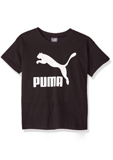 PUMA Little Girls' Archive Lifestyle Easy Fit Tee Black