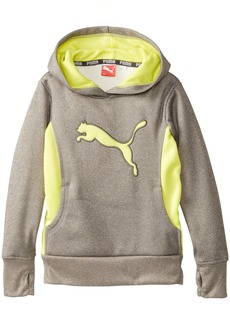 PUMA Little Girls' Cat Hoodie with Thumb Hole