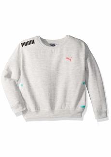 PUMA Little Girls' Fleece Pullover