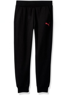 PUMA Little Girls' Joggers Black