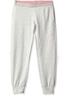 PUMA Little Girls' Melange Jogger Pants