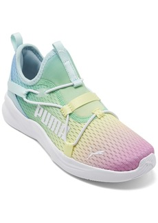 Puma Little Girls Rainbow Rift Slip-On Running Sneakers from Finish Line