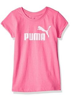 PUMA Little Girls' Short Sleeve Core Tee Shirt