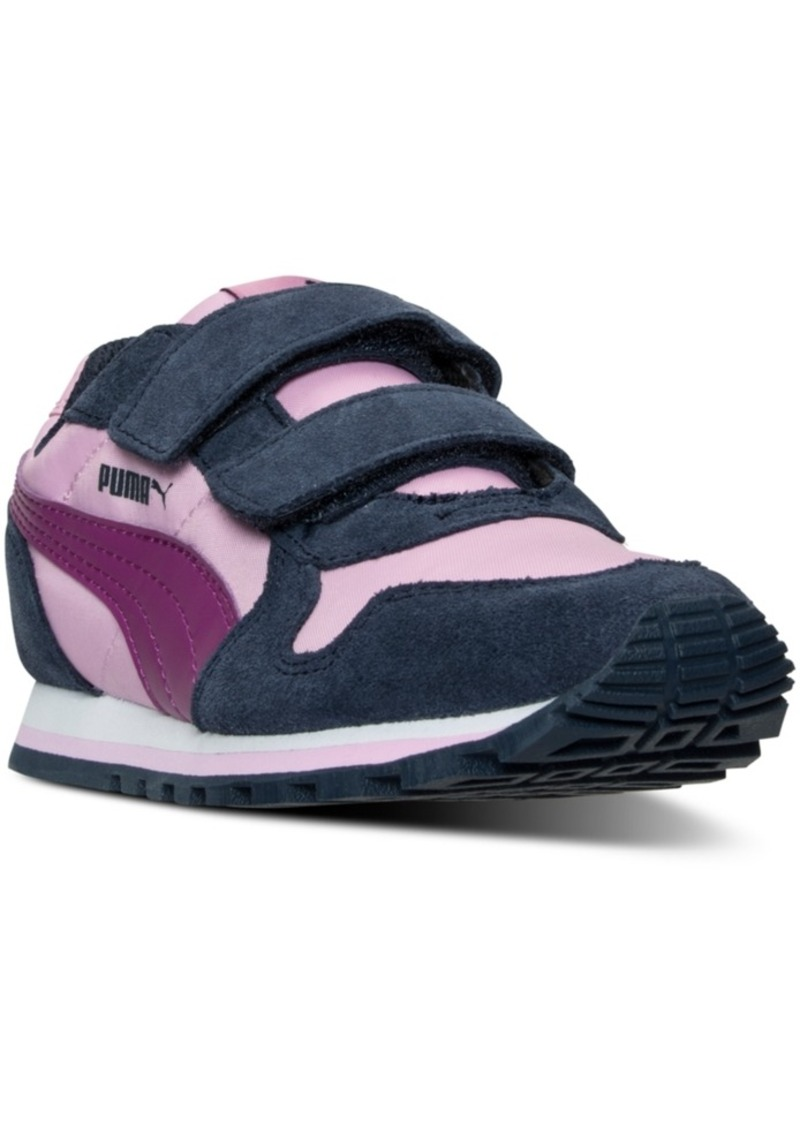 buy popular 21137 90346 Little Girls  St Runner Casual Sneakers from Finish Line. Puma
