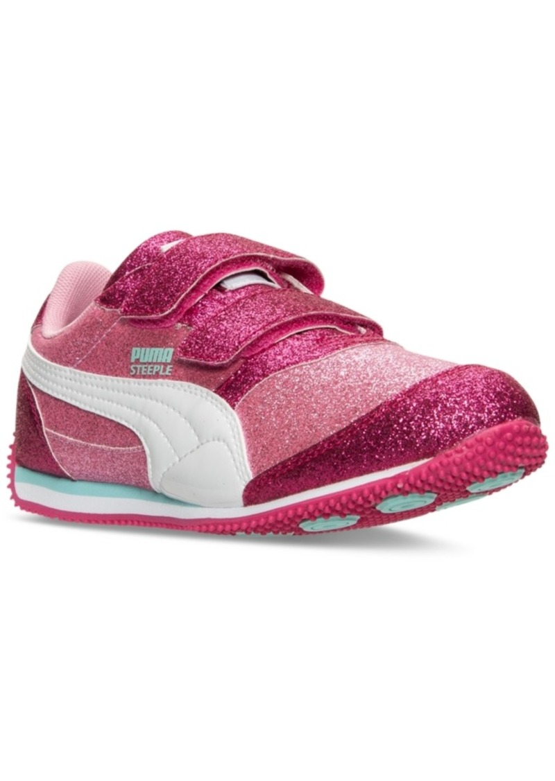 15e800c524359 Little Girls' Steeple Glitz Glam Casual Sneakers from Finish Line