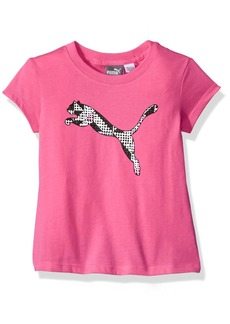 PUMA Little Girls' T-Shirt and Bandana