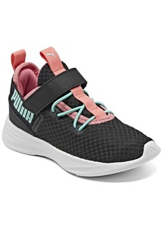 Puma Little Girls Throttle Stay-Put Casual Sneakers from Finish Line