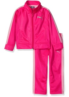 PUMA Little Girls' Tricot Tracksuit Set