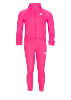 PUMA Little Girl's Two-Piece Track Suit