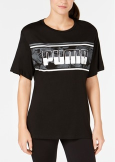 Puma Logo-Graphic Relaxed T-Shirt