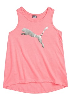 PUMA Logo Graphic Tank (Big Girls)