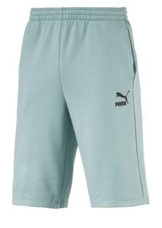 PUMA Logo Pull-On Cotton Shorts