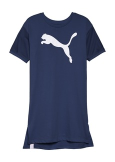 PUMA Logo T-Shirt Dress (Big Girls)