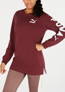 Puma Long Logo T-Shirt