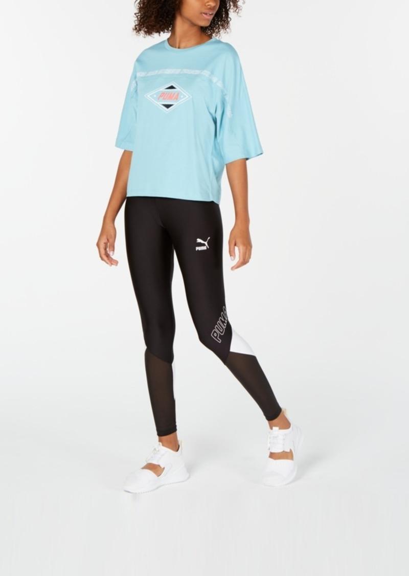 Puma luXTG Cotton Cropped T-Shirt