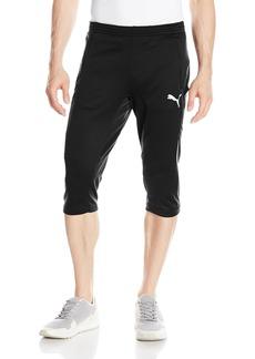 PUMA Men's 3/4 Training Pant black/White