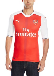 PUMA Men's AFC Authentic Home Shirt (With Packaging) With EPL Sponsor Logo