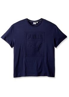 PUMA Men's Archive Embossed Logo T-Shirt  S